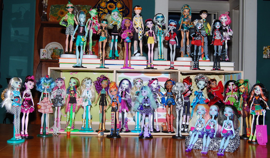Collection Dolls Monster High Collection of Monster High
