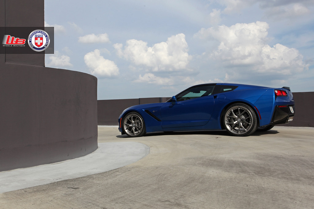 C7 Corvette Stingray On Hre S101 Wheels Boutique Flickr