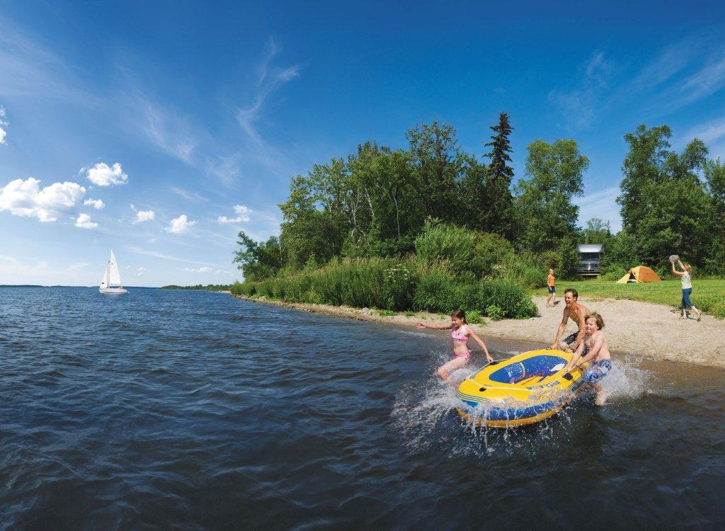 Camping In Lac La Biche Sir Winston Churchill Provincial