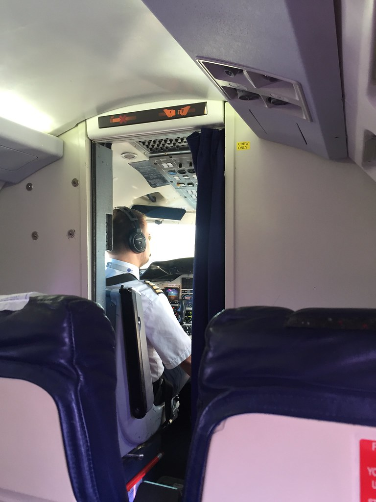 Ingen dörr till piloten