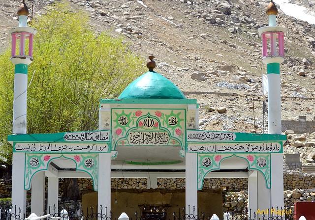 Dargah Sayed Mir Hashim , Karpokhar, Sankoo Valley, Kargil