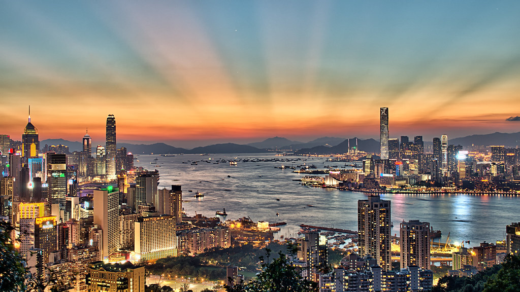 hong kong sunset 18 55mm kit lens view from braemar. Black Bedroom Furniture Sets. Home Design Ideas
