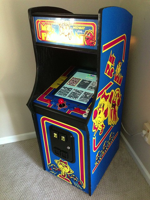 Ms Pac Man Mini Arcade Cabinet An Album On Flickr
