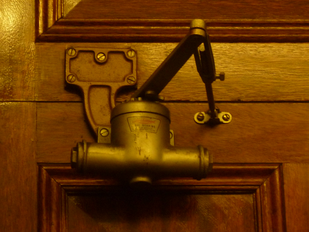 ... Old LOCKWOOD Door Closer - State Parliament of Victoria | by AS 1979 - Old LOCKWOOD Door Closer - State Parliament Of Victoria Flickr