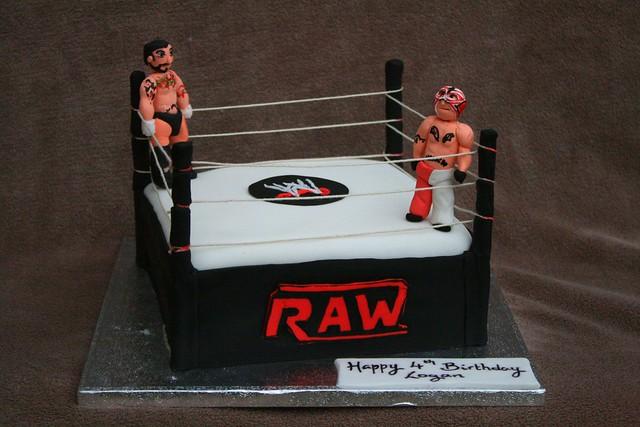 Wwe Cake Decorating Kits