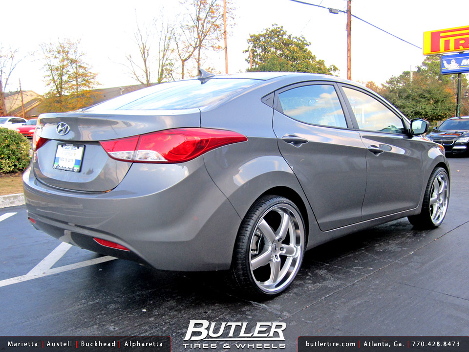 Hyundai Elantra with 20in TSW Stowe Wheels | Additional ...