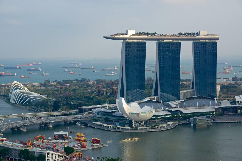 Singapur Marina Bay Sands Hotel Buchen