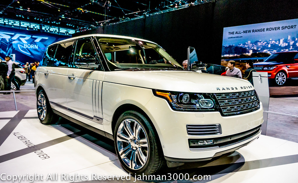 2015 Range Rover Autobiography Black Long-Wheelbase with V ...