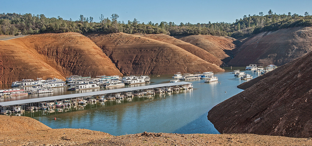 Oroville California Map >> Low water level in Lake Oroville at Bidwell Canyon Marina … | Flickr