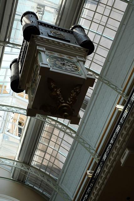 marionette clock Queen Victoria Building (QVB) 04