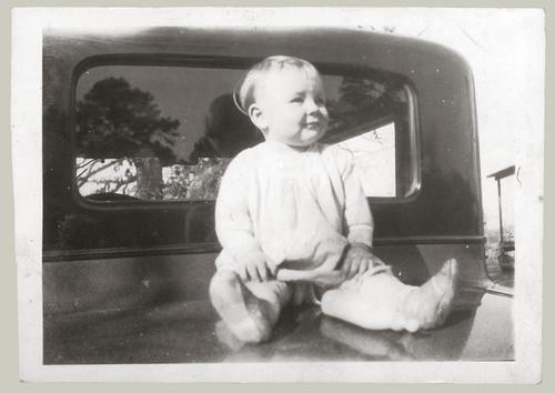 Baby on Car