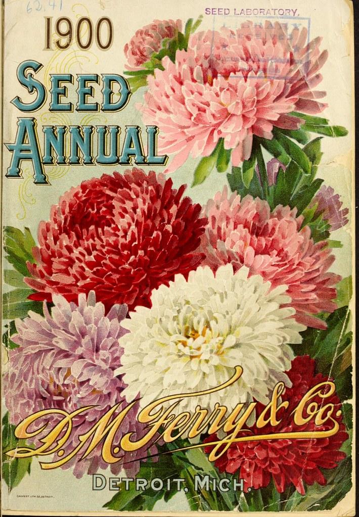 n2_w1150   Seed annual.. Detroit, Mich. :D.M. Ferry & Co ...