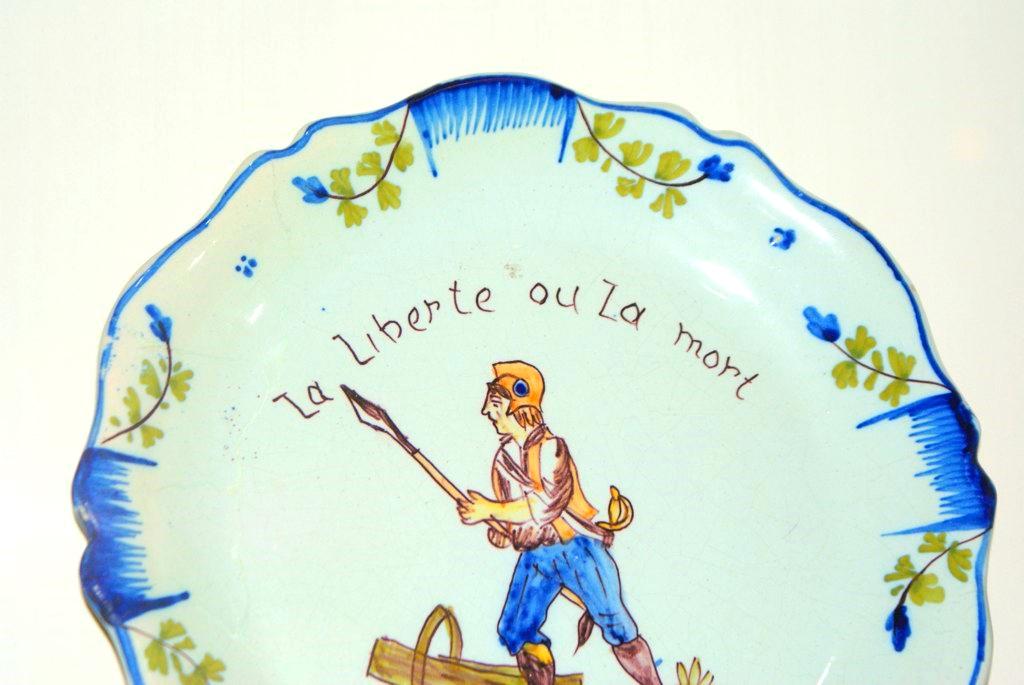 Vaisselle d'après 1789 :