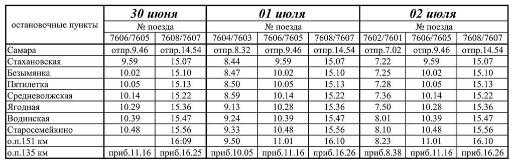 Расписание поездов на море