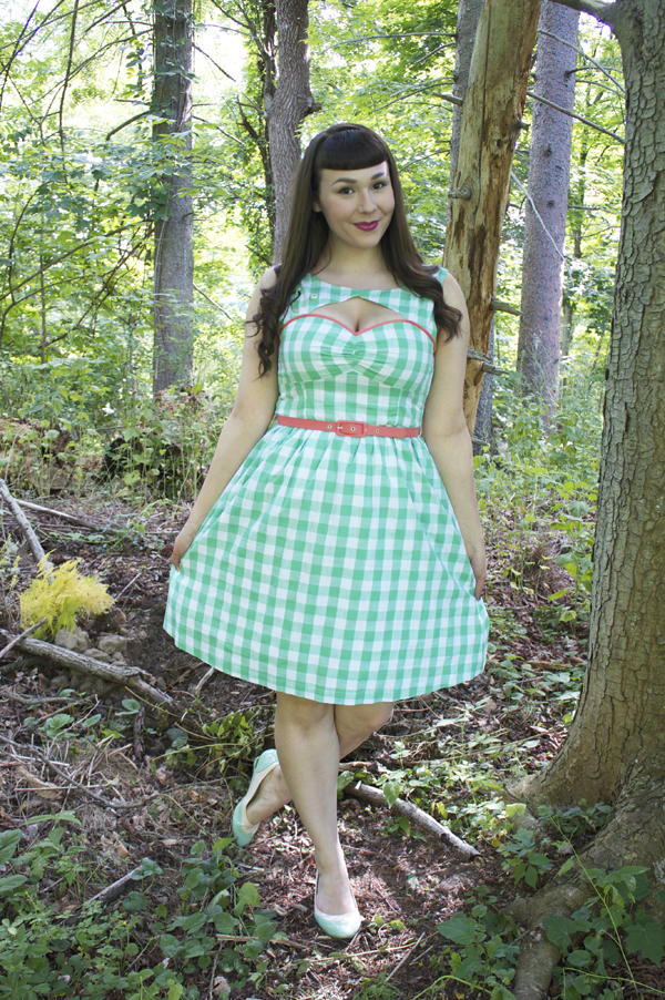 mint gingham modcloth