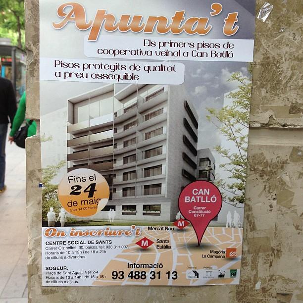 Pisos protecci oficial canbatll barcelona mar unacanciontriste flickr - Pis proteccio oficial barcelona ...