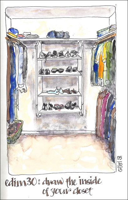 Superior EDiM #30: Draw The Inside Of Your Closet | I Love Our Huge Wu2026 | Flickr