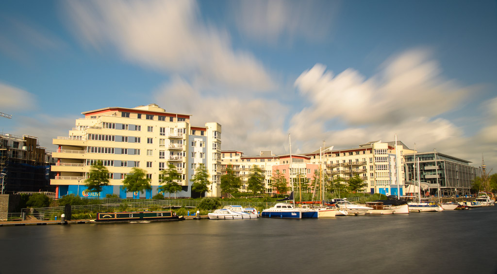 Harbourside Bristol A Thirty Second Exposure To Give