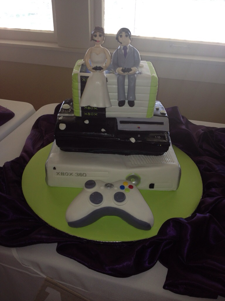 xbox wedding cakes xbox playstation wedding cake xbox playstation wedding 27676