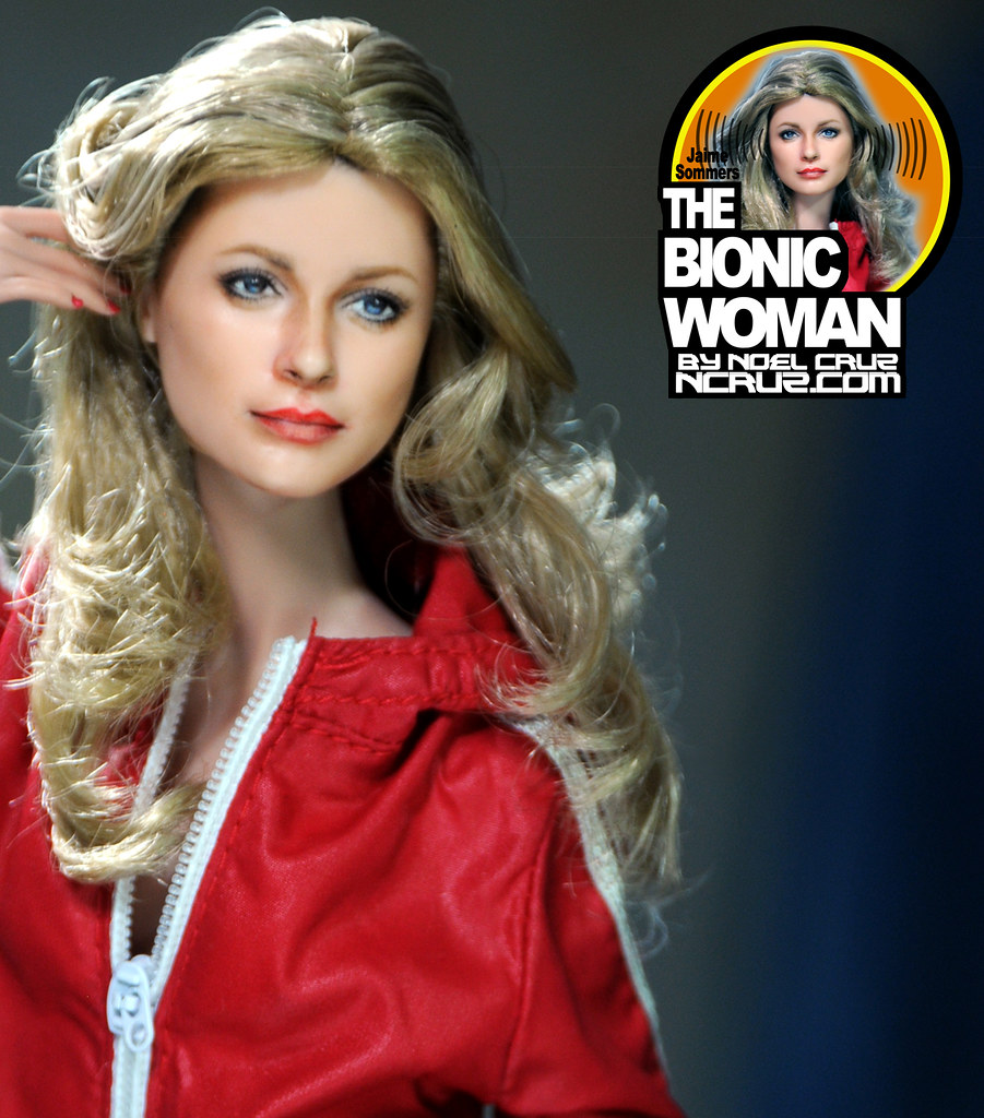 THE BIONIC WOMAN | Lindsay Wagner as Jaime Sommers (TV's ...