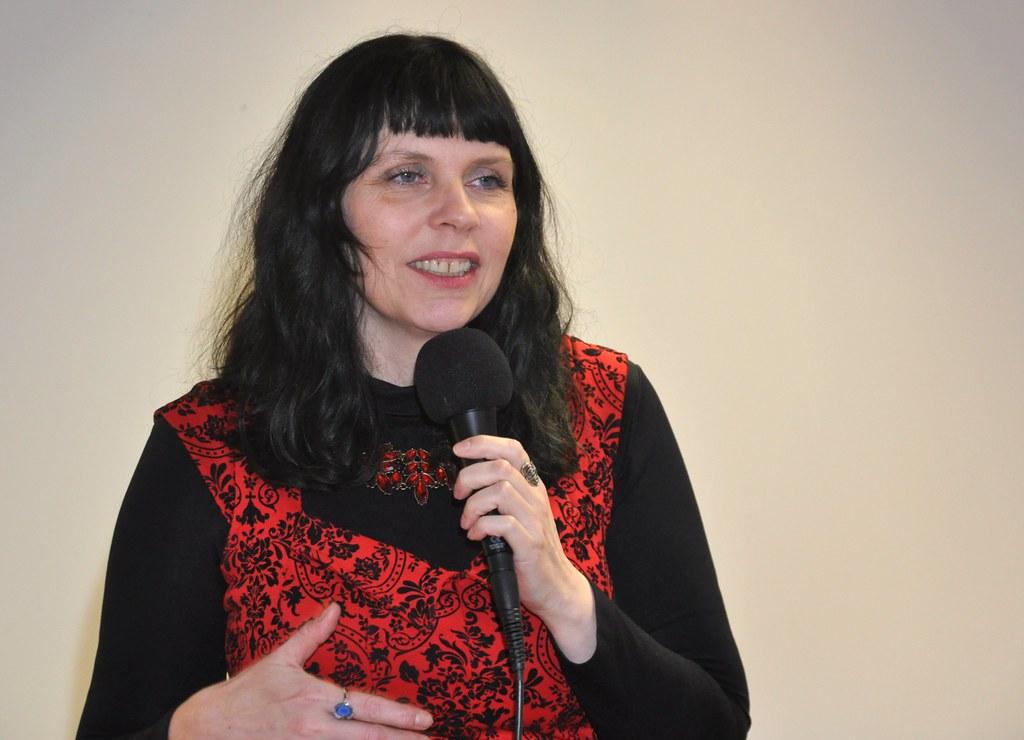 Birgitta Jonsdottir, leader dei Pirati