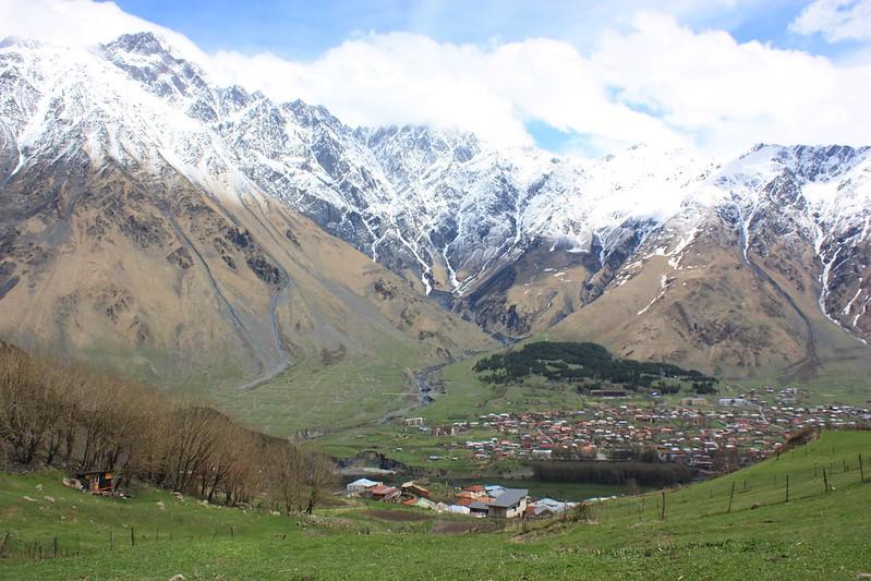 Казбеги, Кавказ