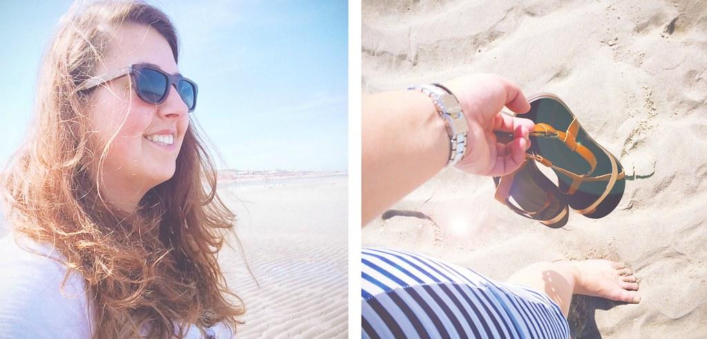 Stijlvol naar het strand met de stijlvolle sandaaltjes van OluKai | via It's Travel O'Clock