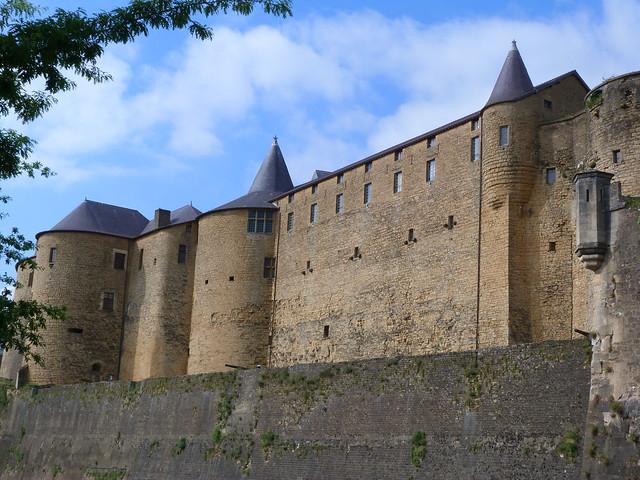 Castillo de Sedán (Ardenas, Francia)