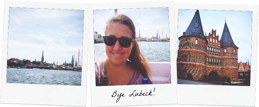 Lübeck from the waterside | via It's Travel O'Clock
