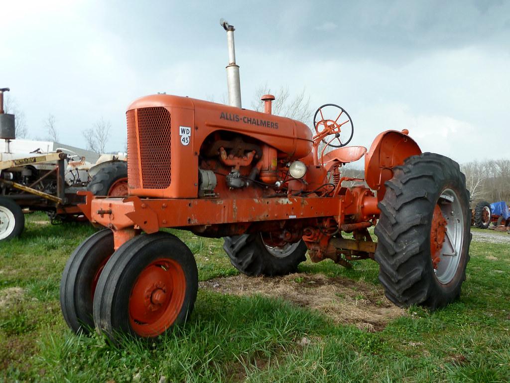 Allis Chalmers Company : Allis chalmers wd farm tractor vevay