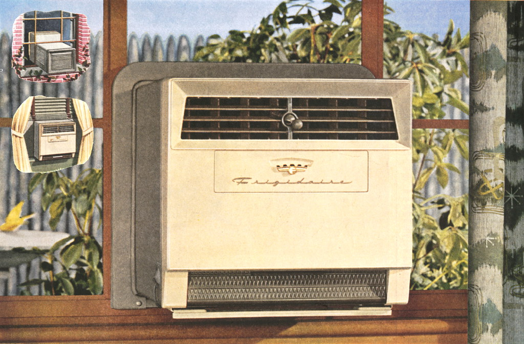 Frigidaire 1955 Casement Window Air Conditioner This