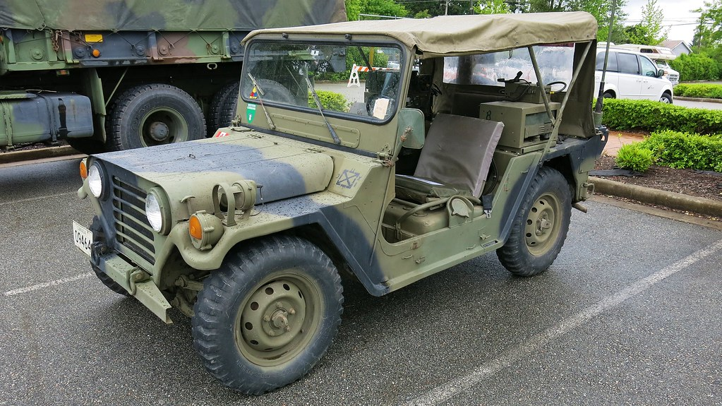 1974 Am General M151 A2 Mutt Military Utility Tactical Tr
