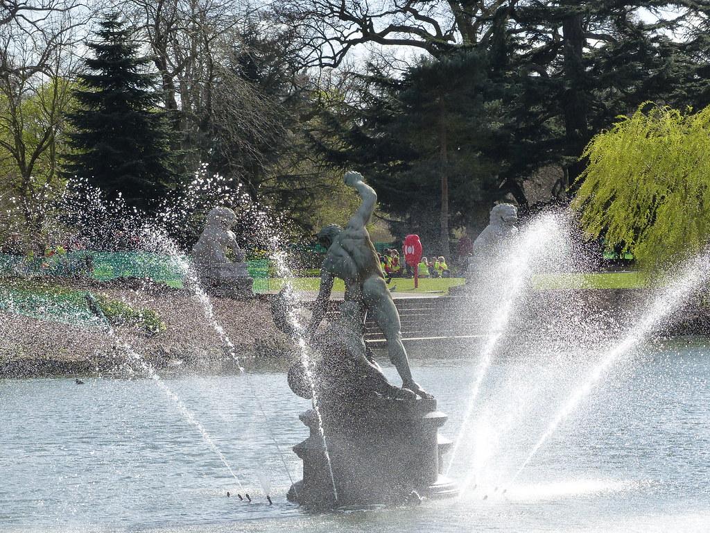 Hercules Wrestling the River God Achelous | Kew Gardens ... Achelous River God