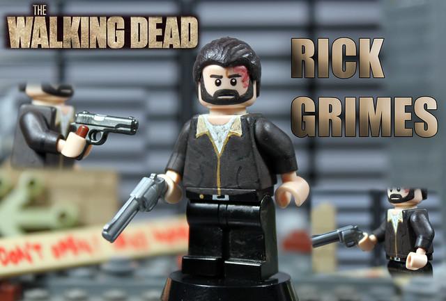 custom lego the walking dead season 4 rick grimes. Black Bedroom Furniture Sets. Home Design Ideas