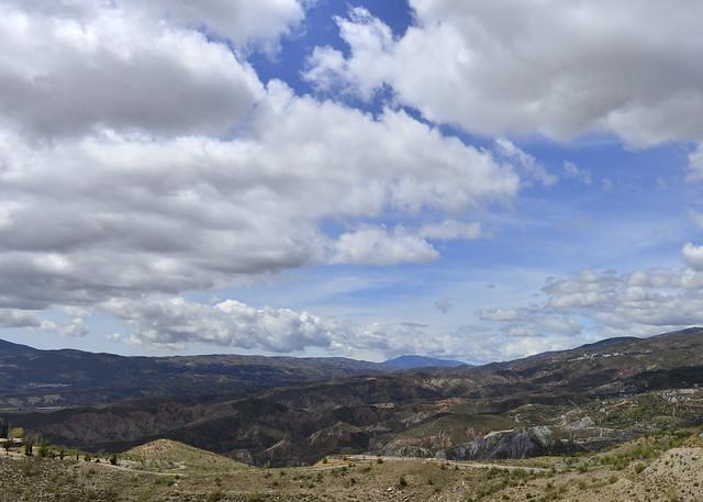 Vistas de la Alpujarra de Granada