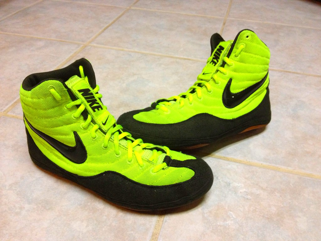 Nike Olympic edition wrestling shoes