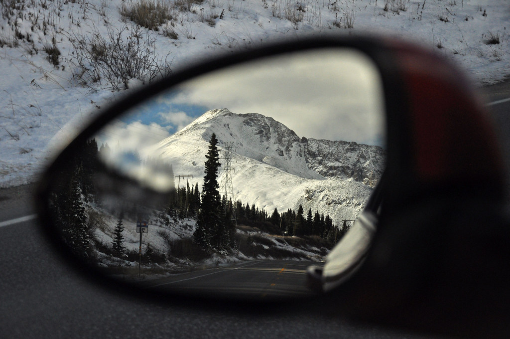 Blind Spot Mirror Out Of Focus
