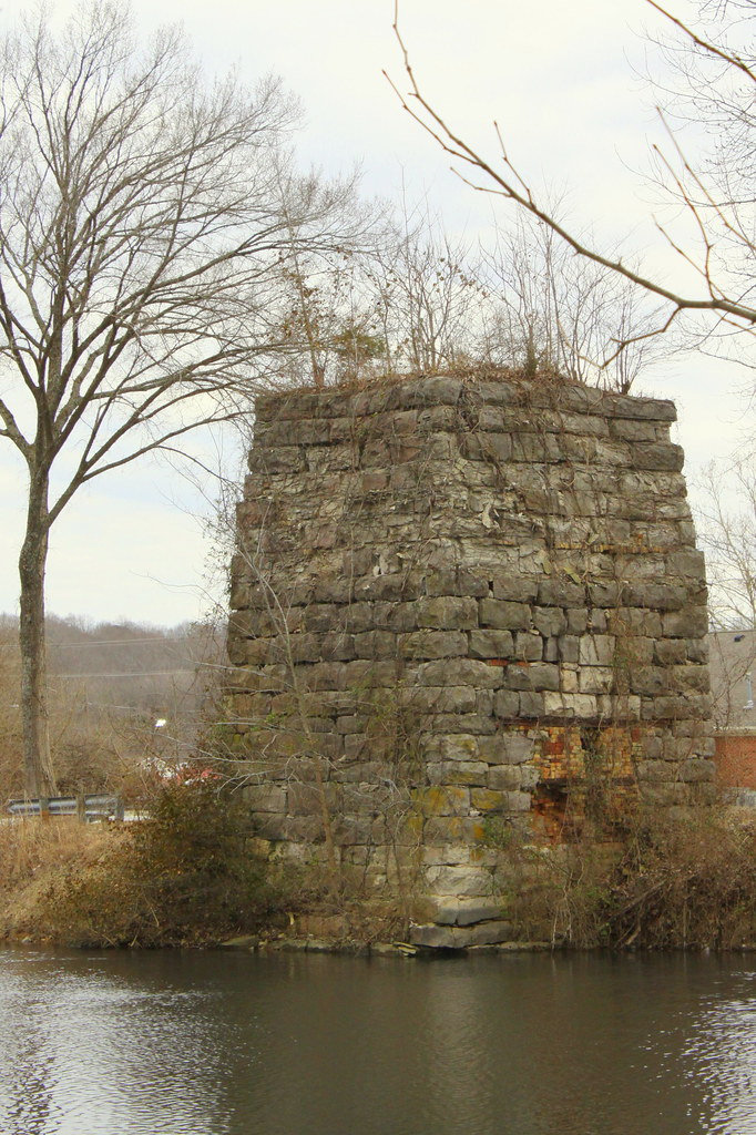 Historic Limekiln Erin Tn Around 1870 The Lime
