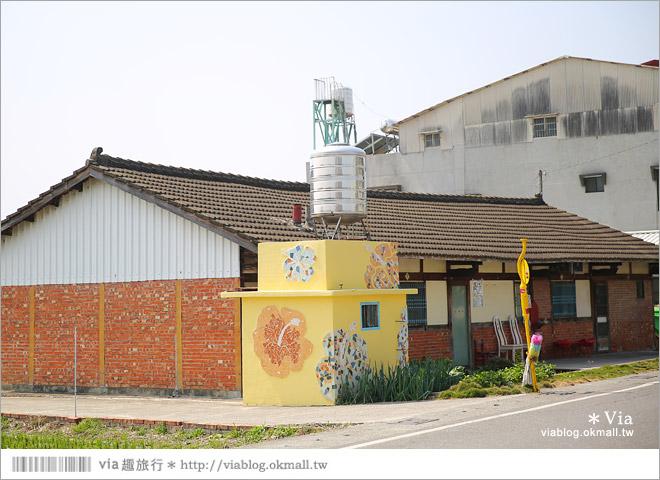【台南後壁幾米】後壁土溝農村美術館‧農村就是美術館!幾米作品可愛現縱~10