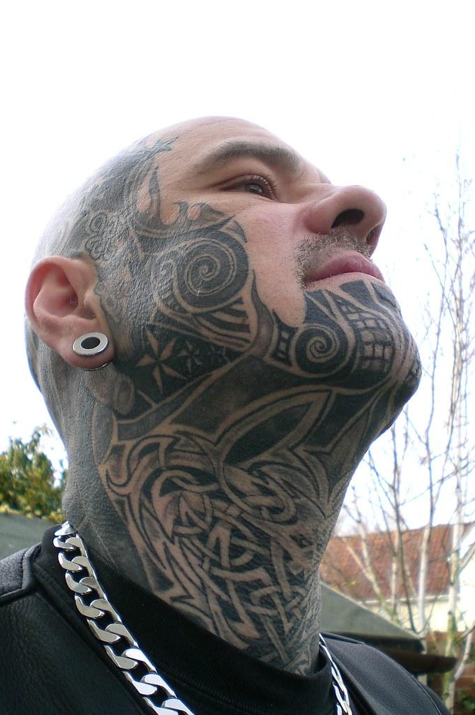 Throat Celtic Knotwork Rob S Head Throat Amp Facial