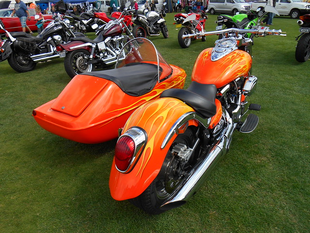 Sidecar Ride App >> 2013 Harley Davidson V Rod & Sidecar + Nitrous Oxide | Flickr - Photo Sharing!
