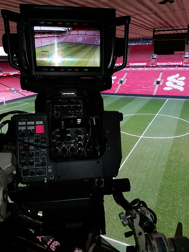 Tv camera on gantry at anfield nonstandard 23 flickr - Tv in camera ...