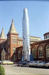 Atlas launcher, Smithsonian Museum, Washington DC, late 1971