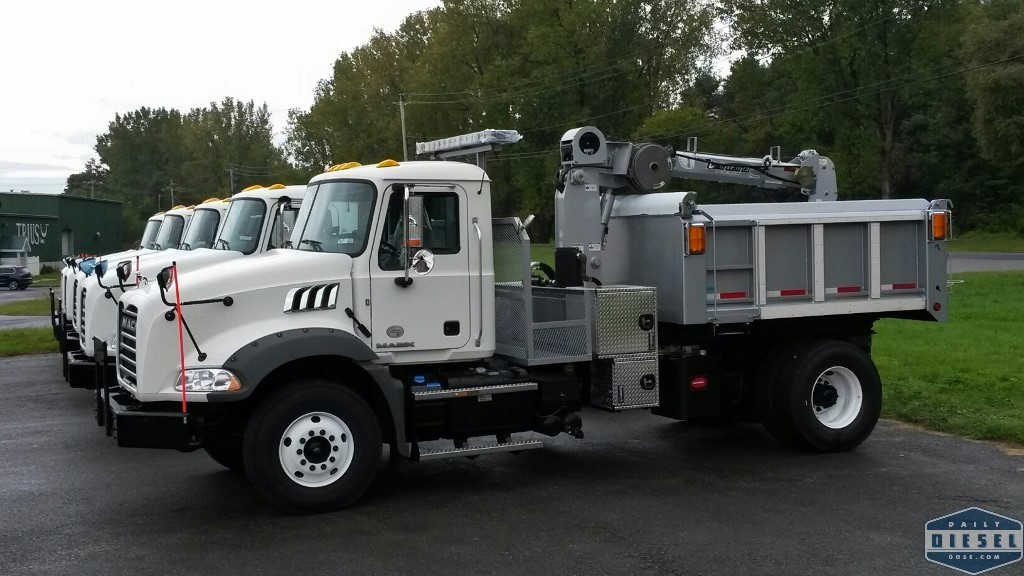 Mack Granites With Catch Basin Cleaner Clarence Ritchie