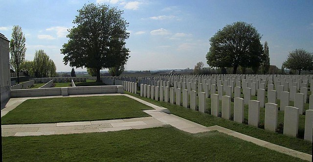 Tyne Cot Cemetery Central Area