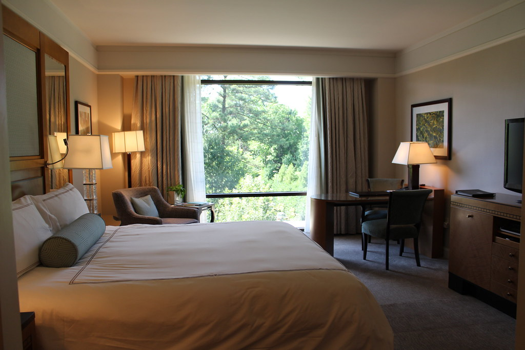 Guest Room at The Umstead Hotel