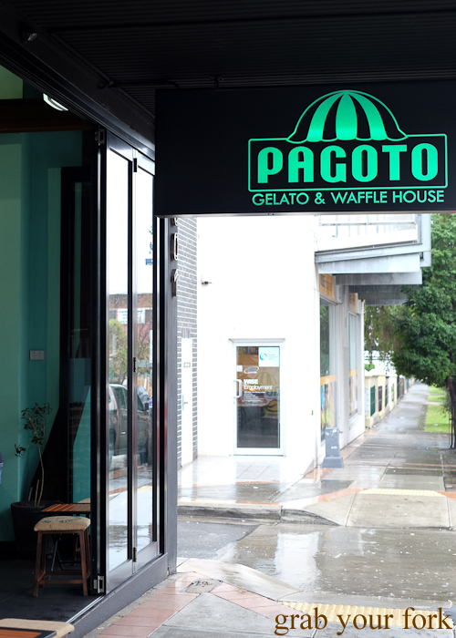 Pagoto Gelato and Waffle House during the Community Kouzina Marrickville Food Tour for Open Marrickville
