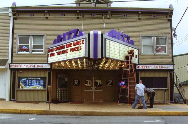 ritz theatre old clearfield pa flickr photo sharing
