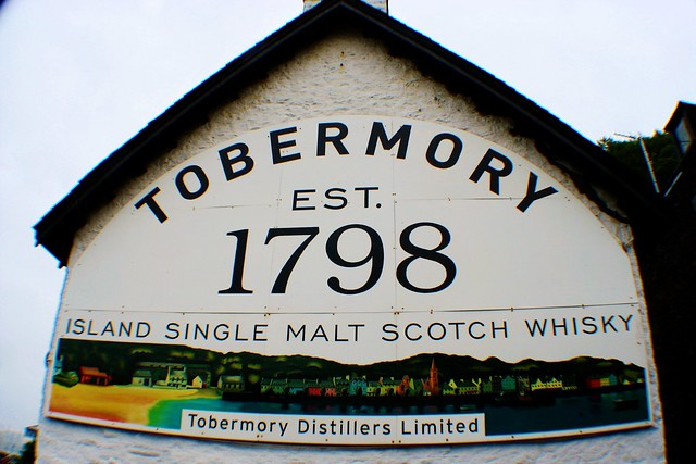 Tobermory Distillery, Isle of Mull, Scotland.
