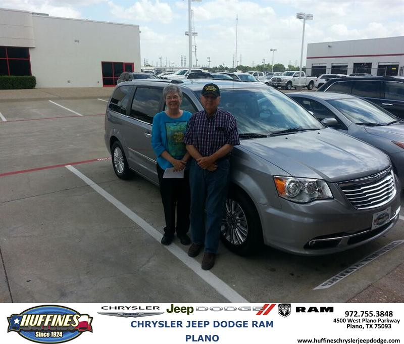 Thank You To Gwen Karney On The 2013 Chrysler Town Amp Count